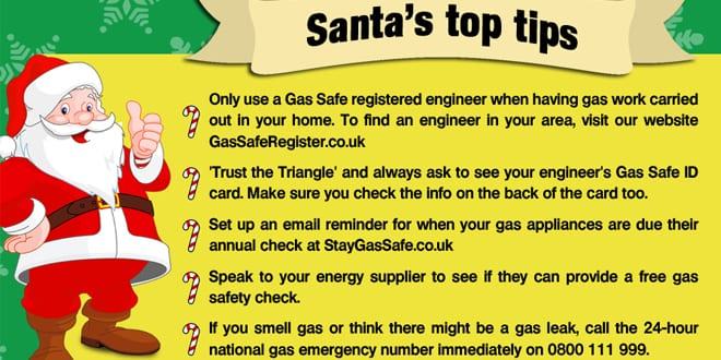 "Popular - Christmas is ""the most dangerous time of the year when it comes to gas safety"""