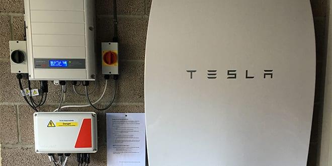 Popular - Tesla Powerwall home battery installed in Wiltshire