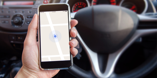 Driving phone