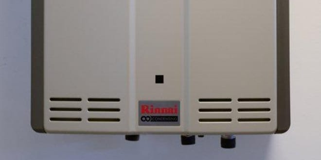 Popular - The Rinnai Infinity range of continuous flow gas fired water heaters include domestic/light commercial units