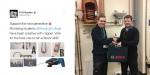 Plumbing student scoops award for innovative copper keyring holder