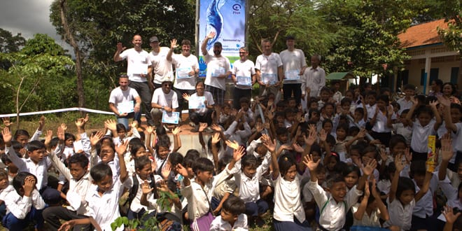 Popular - 3,000 people in Cambodia get access to clean water thanks to Xylem's Waterdrop programme