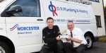 DR Plumbing and Heating wins Worcester's #VanOfTheYear competition