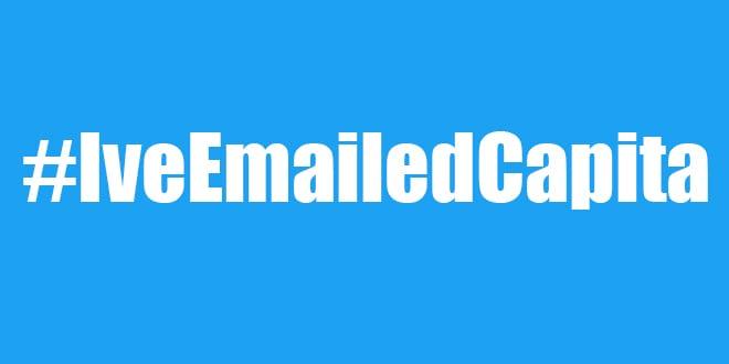 Popular - What is #IveEmailedCapita?