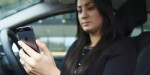 Tough new penalties for people driving while using a mobile phone introduced
