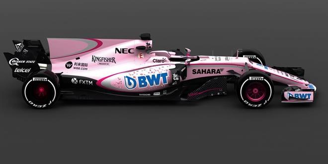 Popular - BWT has new partnership with Sahara Force India Formula 1 racing team