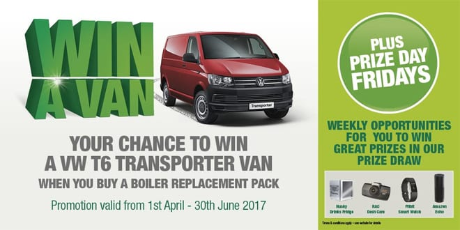 Popular - 'Win a Van' with Graham Plumbers' Merchant