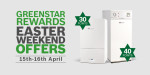 Worcester offering double Greenstar Reward points over Easter weekend