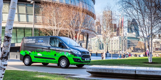 Popular - First wave of Ford Transit plug-in hybrid vans hit the road in autumn