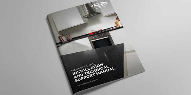 Popular - Maxtop launches technical support manual for kitchen and bathroom worktops