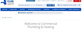 Plumb Center launches new online hub for commercial plumbing and heating