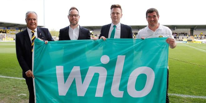 Popular - Wilo sponsors Burton Albion FC for 2017-18 season