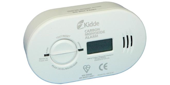 CO alarm kidde