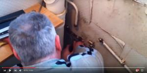 Watch: DIYer floods bathroom – Why customers should always hire a professional