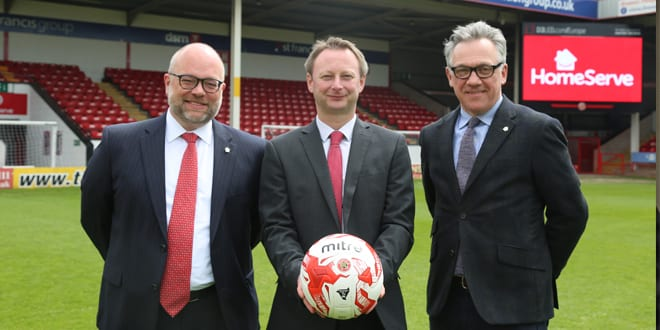 Popular - HomeServe Membership signs new five-year partnership with Walsall FC