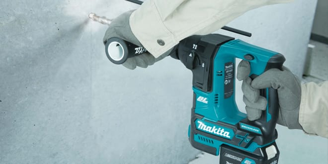 "Popular - New Makita 10.8v BL Rotary Hammer is a ""Mighty Mini"" – Big Power, Small Size"