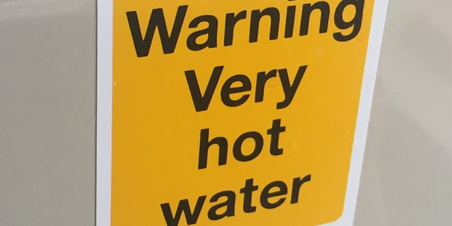 """Popular - Inta says """"caution very hot water"""" signs are no excuse after tragic scalding death"""