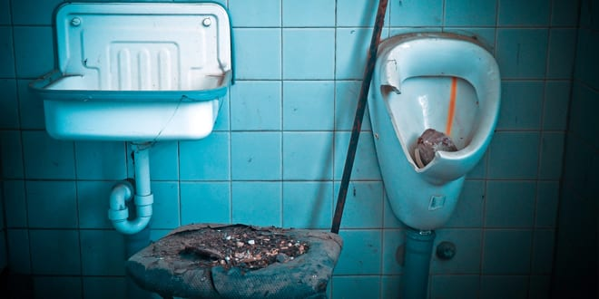 Popular - New research shows 16.5% of people are unhappy at work because of the toilets