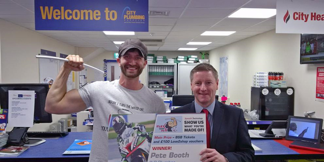 Installers get creative for JG Speedfit's 'Flex Your Pex' competition