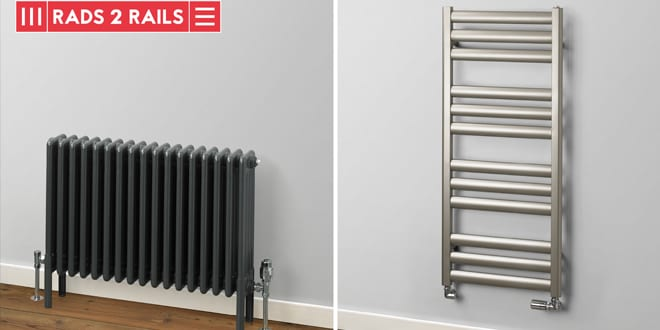 Popular - New Rads 2 Rails collection specifically designed for merchants and heating installers