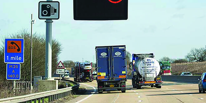Popular - 38% of drivers say they DON'T use lane one on a smart motorway