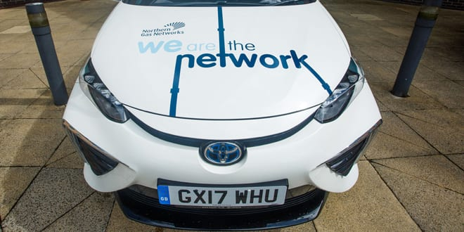 Popular - Northern Gas Networks is promoting clean air with new hydrogen-powered car