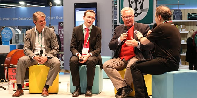 Popular - Tim Pollard thinks the industry is in a strong position after his visit to Installer2017