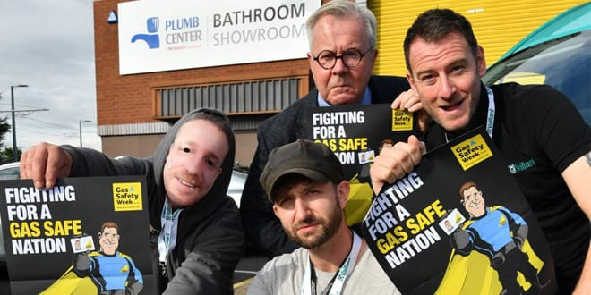 Popular - Installers go on tour to spread important Gas Safety message