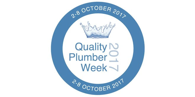 Popular - Quality Plumber Week 2017 kicks off on 2 October