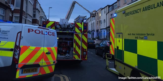 Popular - Two people rushed to hospital after becoming trapped in rubble following suspected gas explosion