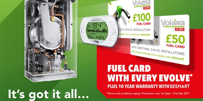Popular - Fill up with Vokèra's new fuel card promotion