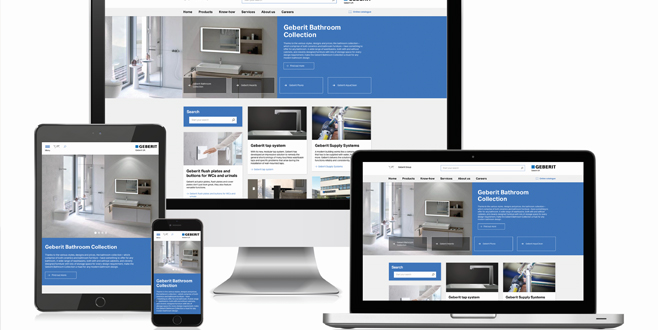 Geberit launches new website to help installers access everything they need