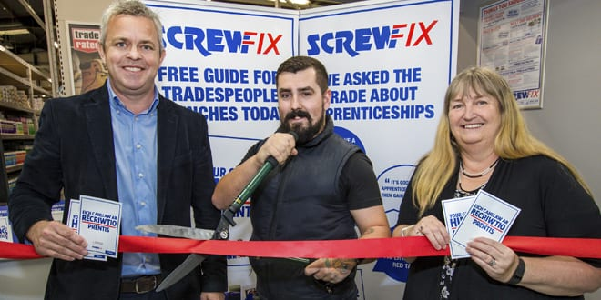 Popular - Screwfix teams with the Welsh Government to help tradespeople hire apprentices