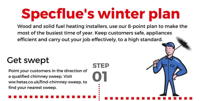 Popular - 8 steps for wood and solid fuel heating installers to make the most of the heating season