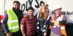 Intergas and installers join DIY SOS for Veteran Street Build