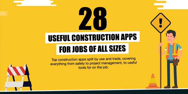 Popular - 28 top apps for construction professionals