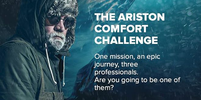 """Popular - Ariston is looking for the most adventurous installers to take part in the epic """"Comfort Challenge"""""""