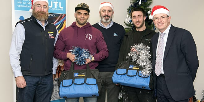 Popular - Christmas comes early for heating and plumbing apprentices thanks to JTL and Monument Tools