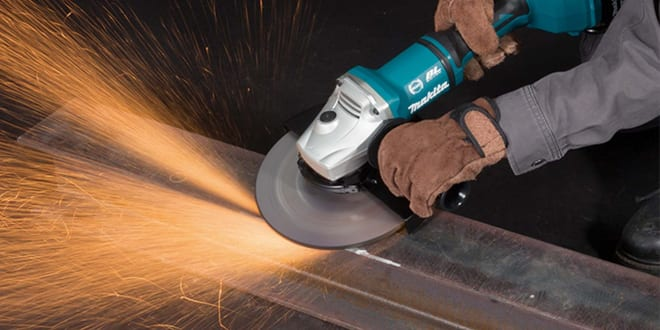 Popular - Makita launches new 36 volt 180mm and 230mm angle grinders
