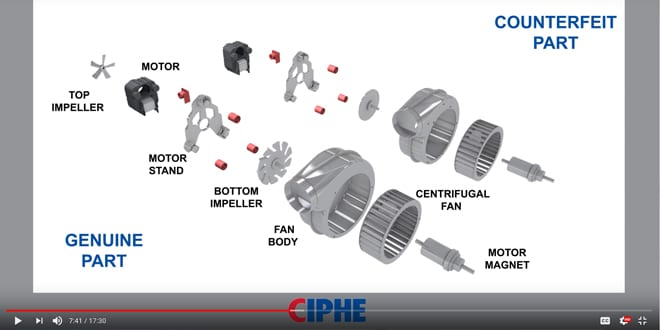 Popular - CIPHE video highlights the legal implications of fitting non-compliant gas parts