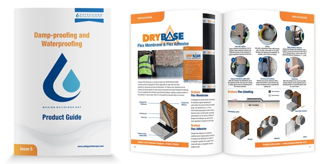 Popular - Safeguard launches new guide for damp and waterproofing technologies
