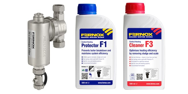 Popular - Fernox launches new TF1 Omega Filter Installer Pack