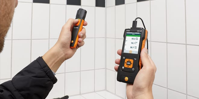 Popular - Testo launches the testo 440 – a new air velocity and IAQ measuring instrument