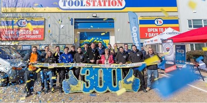 Popular - Toolstation reaches 300th store milestone