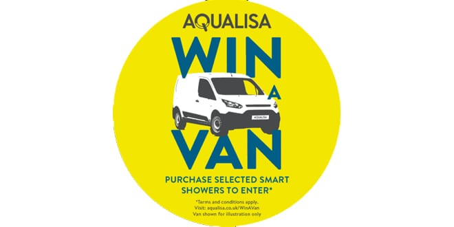 Popular - Win a new van courtesy of Aqualisa