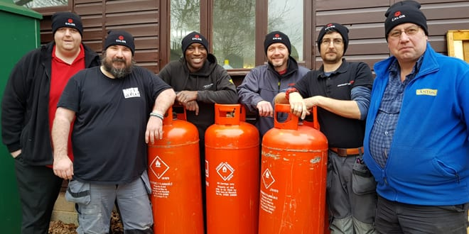 Popular - 'Heat for Good' charity install programme donates heating system to children's centre