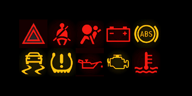 10 Warning lights – what is your van trying to tell you?