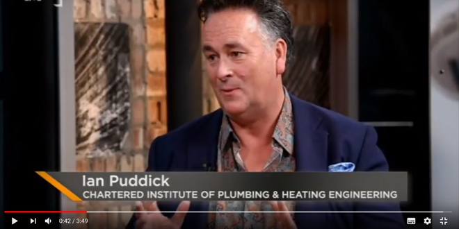 CIPHE installer appears on London Live to advise the public on what to do during the cold weather