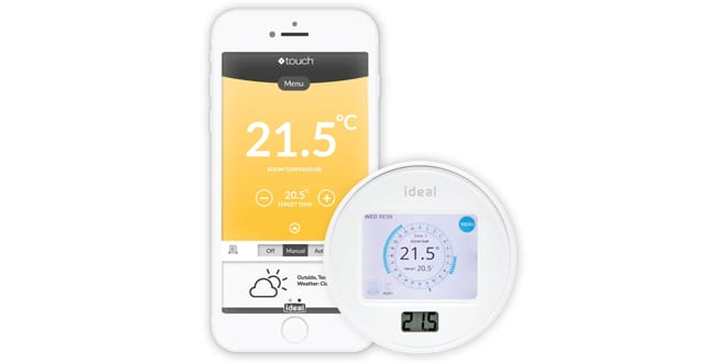 Popular - Ideal Boilers launches new Touch Connect smart control