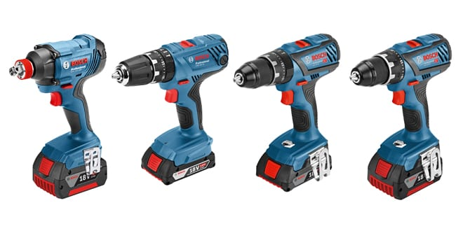 Popular - Bosch adds four new products to its 18 V cordless tool range